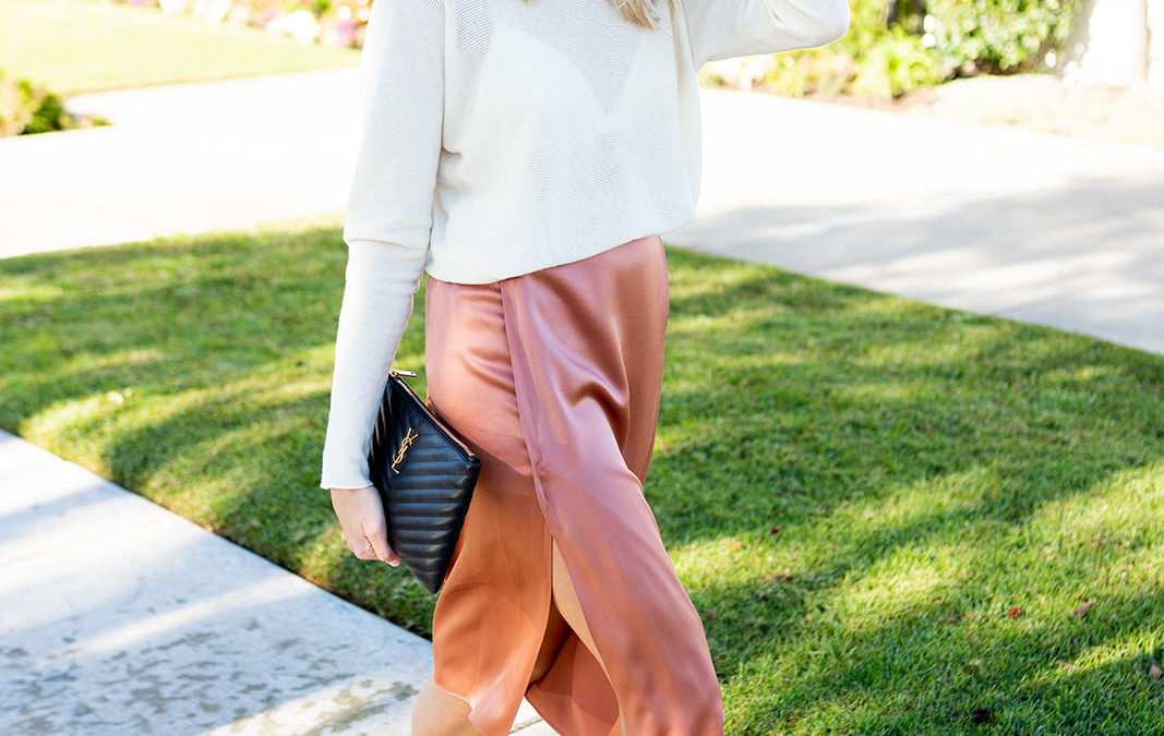 How to Dress for Spring When it's Still Cold